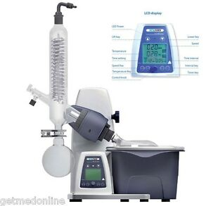New Scilogex Re100 pro Digital Rotary Evaporator Rotavap W glassware 61113201