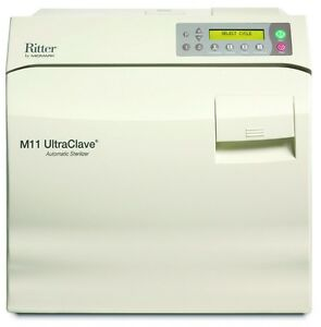 New Ritter Midmark M11 Ultraclave 6 5 Gal Steam Autoclave M11 022