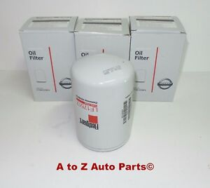 New Nissan Titan Xd 5 0 V8 Cummins Turbo Diesel Engine Oil Filter Set Of 3 Oem