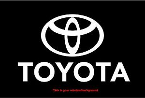 Toyota Logo Car Truck Vinyl Decal Sticker Ships From Usa