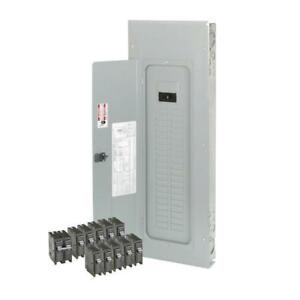 Main Breaker Load Center Indoor Electrical Panel Board 200 Amp 40 space circuit
