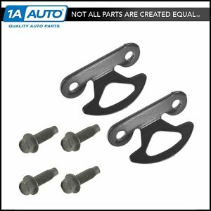 Oem Bed Tie Down Hook With Mounting Bolts Pair For Ford Super Duty Pickup Truck