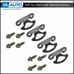 Oem F81z 9900064 Aa Bed Tie Down Hook With Hardware Set Of 4 For Pickup Truck