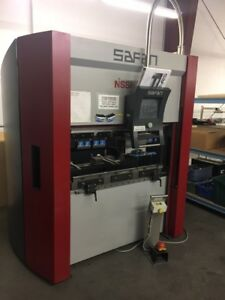 Nishinbo Safan 25 Ton X 48 Servo Controlled 3 axis Cnc Brake Press