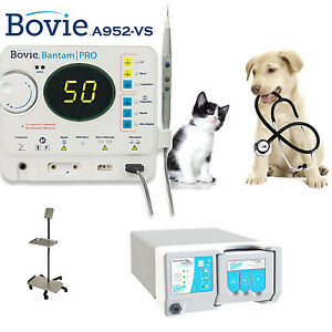 New Bovie Bantam Pro 50w Electrosurgical Complete System For Veterinary A952 vs