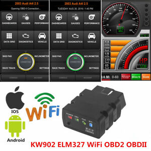 Wifi Kw902 Elm327 Obd2 Obdii Car Engine Diagnostic Scan Tool For Iphone Android
