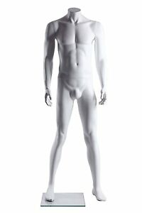Abstract Male Mannequin Headless Style Made Of Fiberglass gm41h
