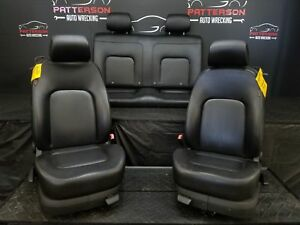 2006 Vw Beetle Set Of Front Rear Leather Manual Seats Trim Code Ln