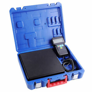 220lb Electronic Hvac Refrigerant Weight Scale Digital Charging Weighing Scale