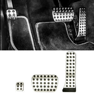 Foot Pedals Cover Pad Kit For Mercedes 2008 14 Glk X204 2012 14 Sl R231 Class