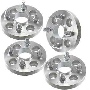 4 1 Hubcentric Wheel Spacers 4x100 Fits Toyota Mazda Scion 54 1mm Hub