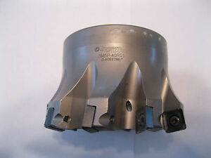 Used Ingersoll Gold quad 4 High Feed Face Mill 5m5p 40r01 Item 27