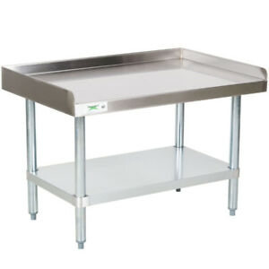 New Stainless Steel Commercial Kitchen Work Prep Equipment Table Stand 24 X 36