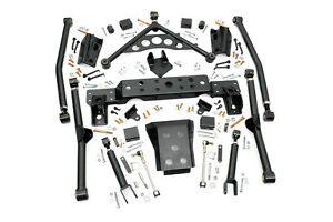 Rough Country Jeep Long Arm Upgrade Kit 99 04 Wj Grand Cherokee