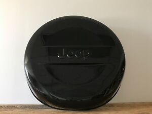 2007 2017 Jeep Wrangler P255 70r18 Black Hard Surface Tire Cover 5qz12gw7aa