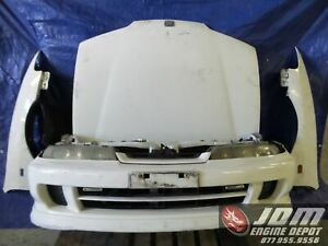 94 01 Honda Integra Dc2 Type R Non hid Front Nose Cut Conversion Jdm B18c 180