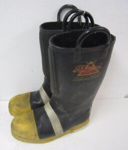 Thorogood Hellfire Steel Toe Firefighter Safety Fire Boots Mens Size 8 5 Medium