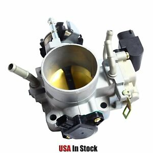 Fit 2003 2004 2005 Honda Accord Dx Lx Ex 2 4l Cable Drive Throttle Body Assembly