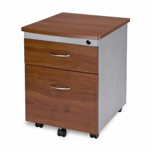 Ofm Ofm 55106 chy Mobile File Cabinet 55106 chy Cherry Modern Melamine Steel
