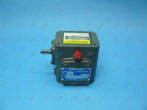 Boston Gear 710 15 g Right Angle Gear Reducer 80 1 Left 0 33 Hp 3 8 X 1 2 Shaft