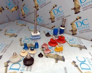 Anver Edco Other Suction Cups Various Lot Of 16