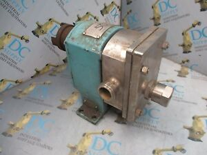 Crepaco Sz 3r 1 Dia 100 Psig 6 9 Bar Positive Displacement Food Sanitary Pump