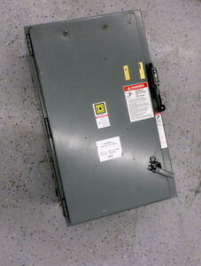 Square D 30531 150 50pp Eq5400 Weld Control Cabinet 33 X 20 X 15 Enclosure Only