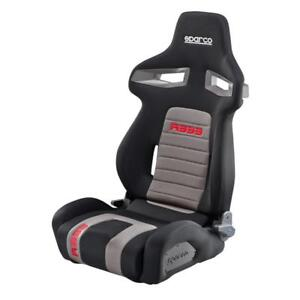 Sparco R333 Racing Tuning Reclining Adjustable Sports Seat Black Red