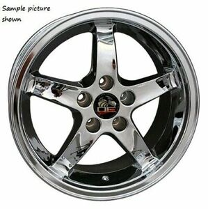 1 New 17 Replacement Wheel Rim For 1994 2004 Ford Mustang Cobra 8151