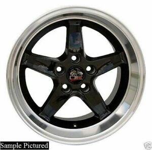 1 New 17 Replacement Rear Wheel Rim For 1994 2004 Ford Mustang Cobra 8154