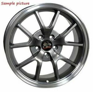 1 New 18 Replacement Wheel For 1994 2004 Ford Mustang Fr500 Rim 8159