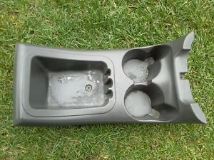 1998 2002 Ford Expedition Center Console Cup Holder Large Gray Oem