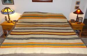 Rare Orr Health Blanket Native Indian Trade Striped 1920 S Bold Colors Exc