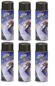 Performix Plasti Dip 11287 Graphite Metalizer Rubber Spray 6 Pack