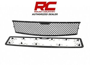 07 13 Chevrolet Silverado 1500 Rough Country Replacement Mesh Grille Kit 70194