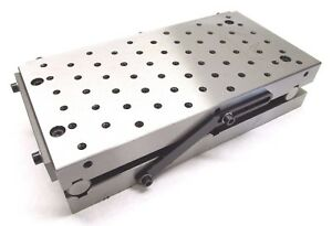 New Precision 12 X 6 Sine Fixture Plate W Threaded Holes