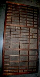 32 Vintage Hamilton Wood Printing Press Drawer