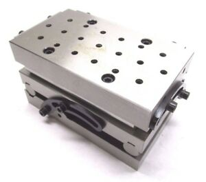 New Precision 7 X 4 Compound Sine Fixture Plate W Threaded Holes