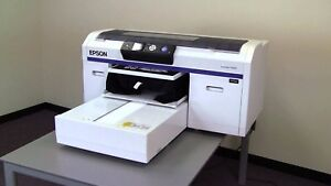 Epson Surecolor Sc f2000 Direct To Garment Printer May Need New Print Head