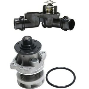 Water Pump Kit For 2001 2006 Bmw X5 330ci Water Pump And Thermostat 2pc