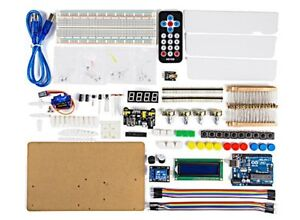Arduino Intermediate Kit With Ir Remote Control And Sound Usa Seller