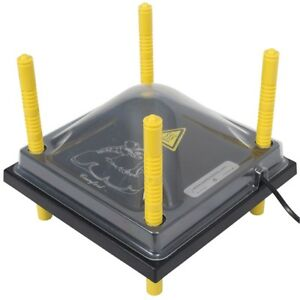 Chick Brooder Heating Plate With Cover 12x12 Keep Your Chicks Warm 22 Watt