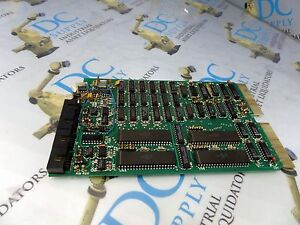 Puma Unimation 7223c29 G08 Rev C Mkii iii Quad Serial Interface Board