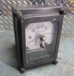 General Electric 700x64g300 Type Dsm 63 Kilowatt Hour Meter