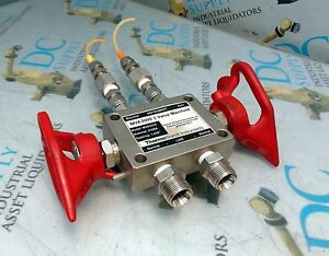 Thermo Brandt Industries Mva3000 3 Way Valve Manifold