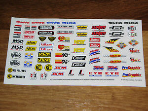 Small Decal Sticker Sheet K N Centerline Hedman Hooker Headers Holley Hurst Nos