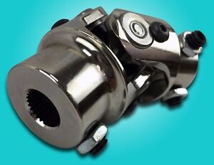 9 16 26 Spline To 3 4 Dd Chrome Steering Universal Joint U Joint New