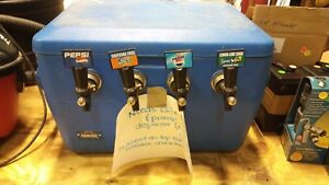 Soda Dispensing Cooler With Tank s