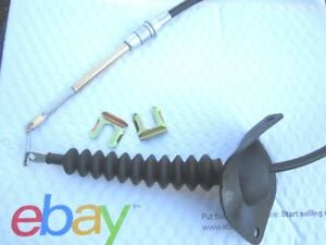 68 81 Chevy Automatic Console Shifter Selector Cable With Clips Free Ship