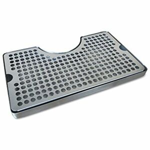 Non slip Kegs Kegging Rubber Padded Stainless Steel Drip Tray With Tower By